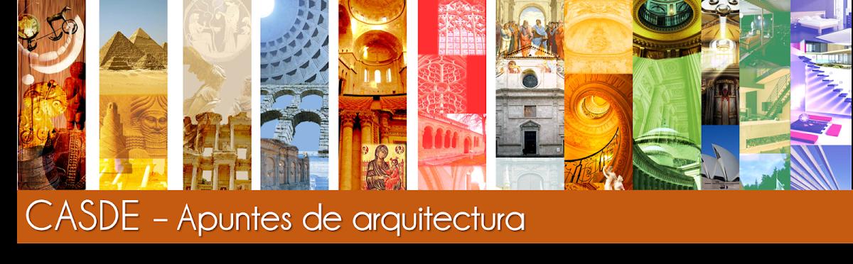 Casde apuntes de arquitectura for Historia de la arquitectura pdf