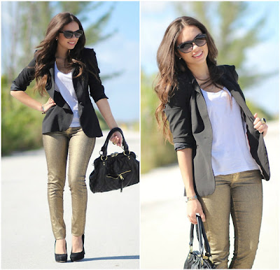 Amarelo Bordo+calça+dourada+ouro+Fashion+Bag+bolsa+tendencia+moda