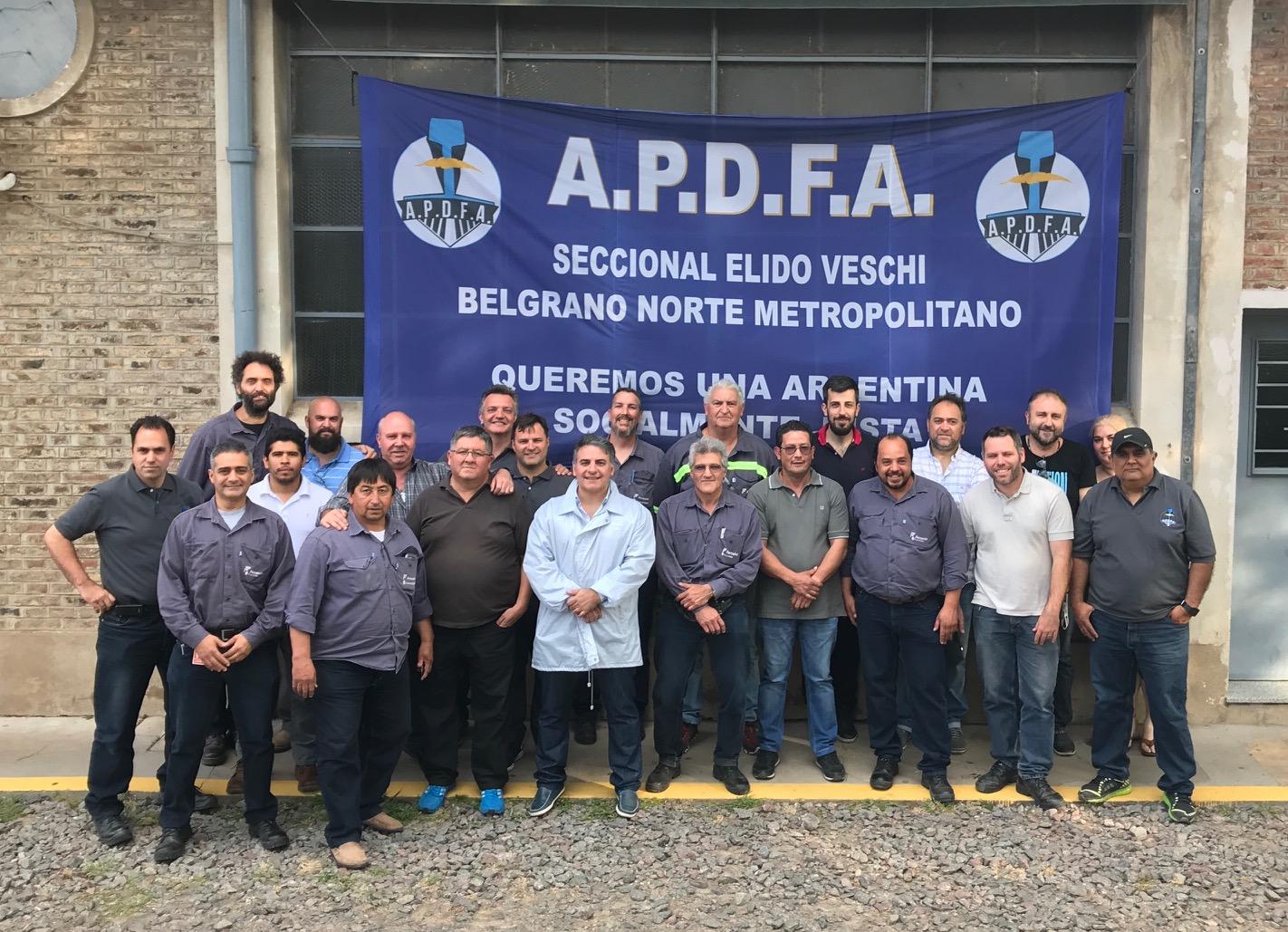 """A.P.D.F.A. Seccional Belgrano Norte Metropolitana Ing. Elido Veschi - """"Compromiso y trabajo""""."""