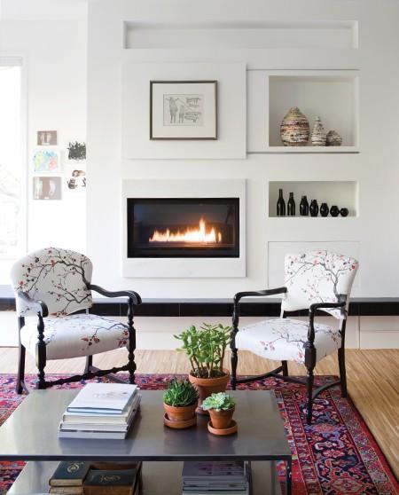 Tapetes orientais na decora o papo de design - Decoration foyer salon ...