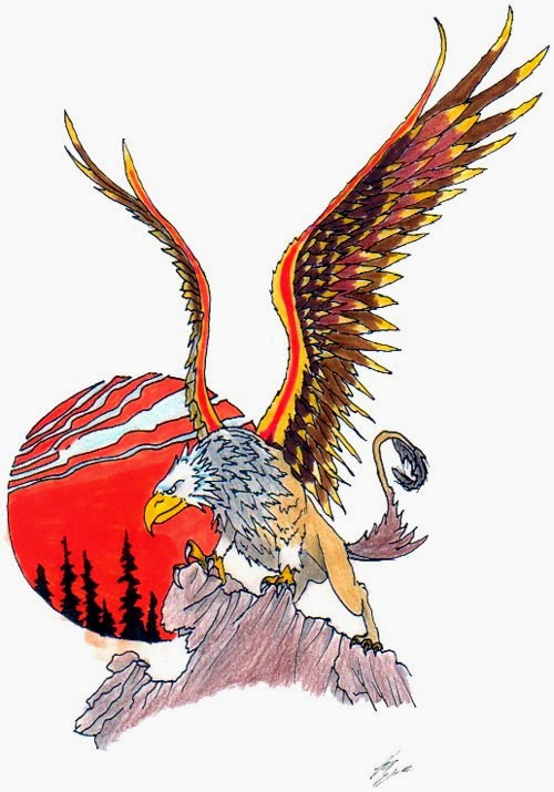 Big Eagle Tattoo Design