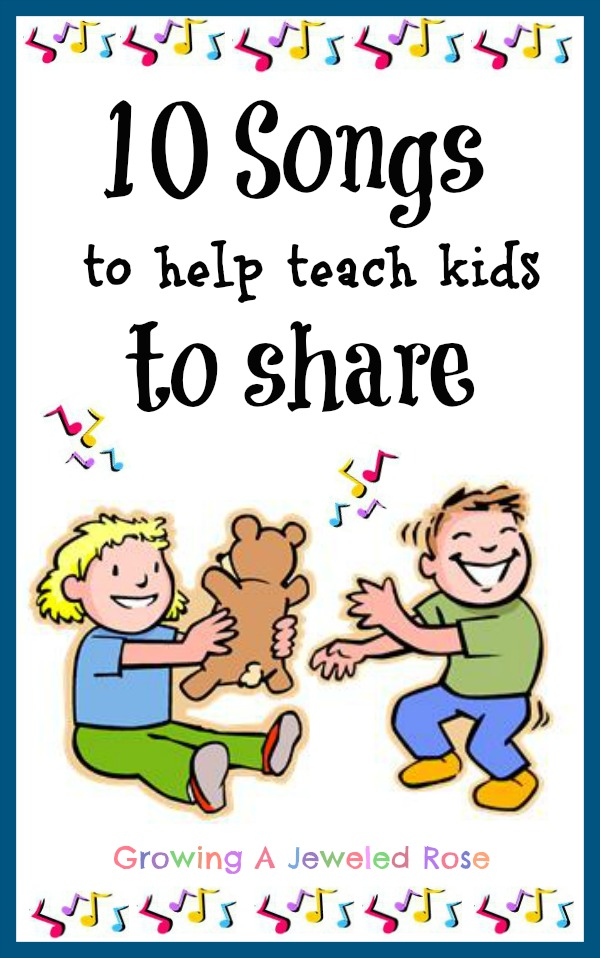 sharing songs for preschoolers 10 songs to help teach to growing a jeweled 193