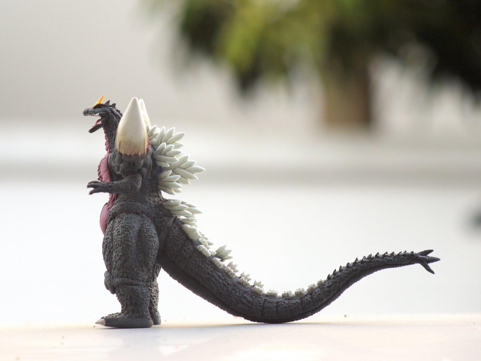 Godzilla Clay Model