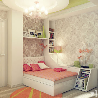 cama com arrumação extra