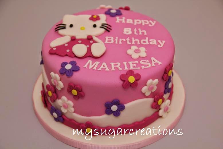 Hello Kitty Fondant Cake Class