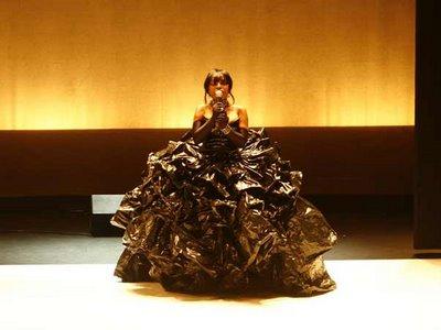 Vestido Saco de Lixo