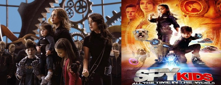 Spy Kids 4D Movie