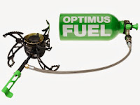 Multi fuel camping stove optimus