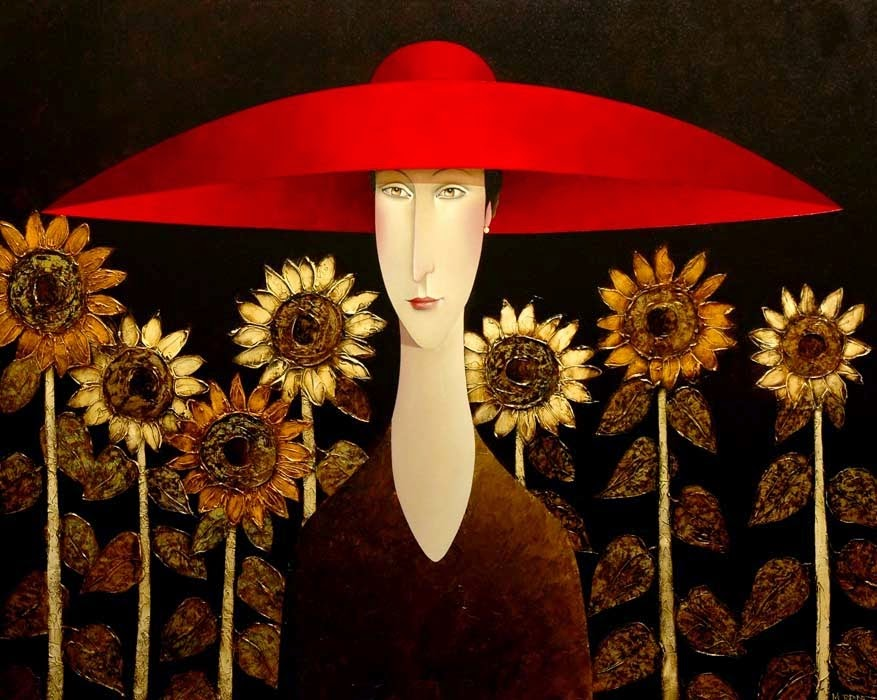 Danny Mc ride Sunflowers