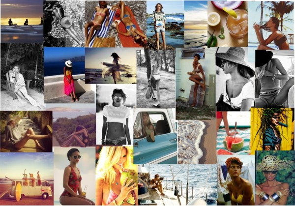 Summer, sun, beach, swimwear, bathing suits, bikinis, watermelon, colorful, be achy, sand