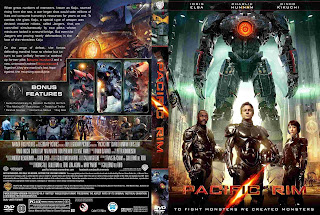 pacific rim dvd cover  Pacific Rim (2013) - Cover