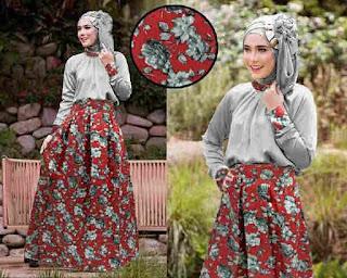 Hijab Carvella Grey Online Shop