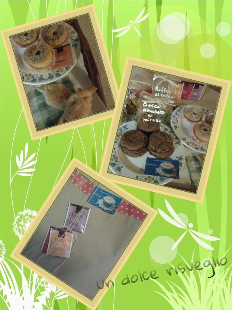 regalo colazione, muffin, biscotti