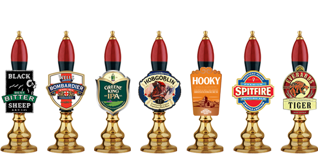 Different guest real ale every weekend from 163 2 70 pint