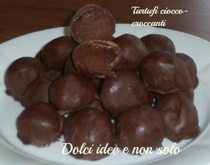 tartufi cioccocroccanti