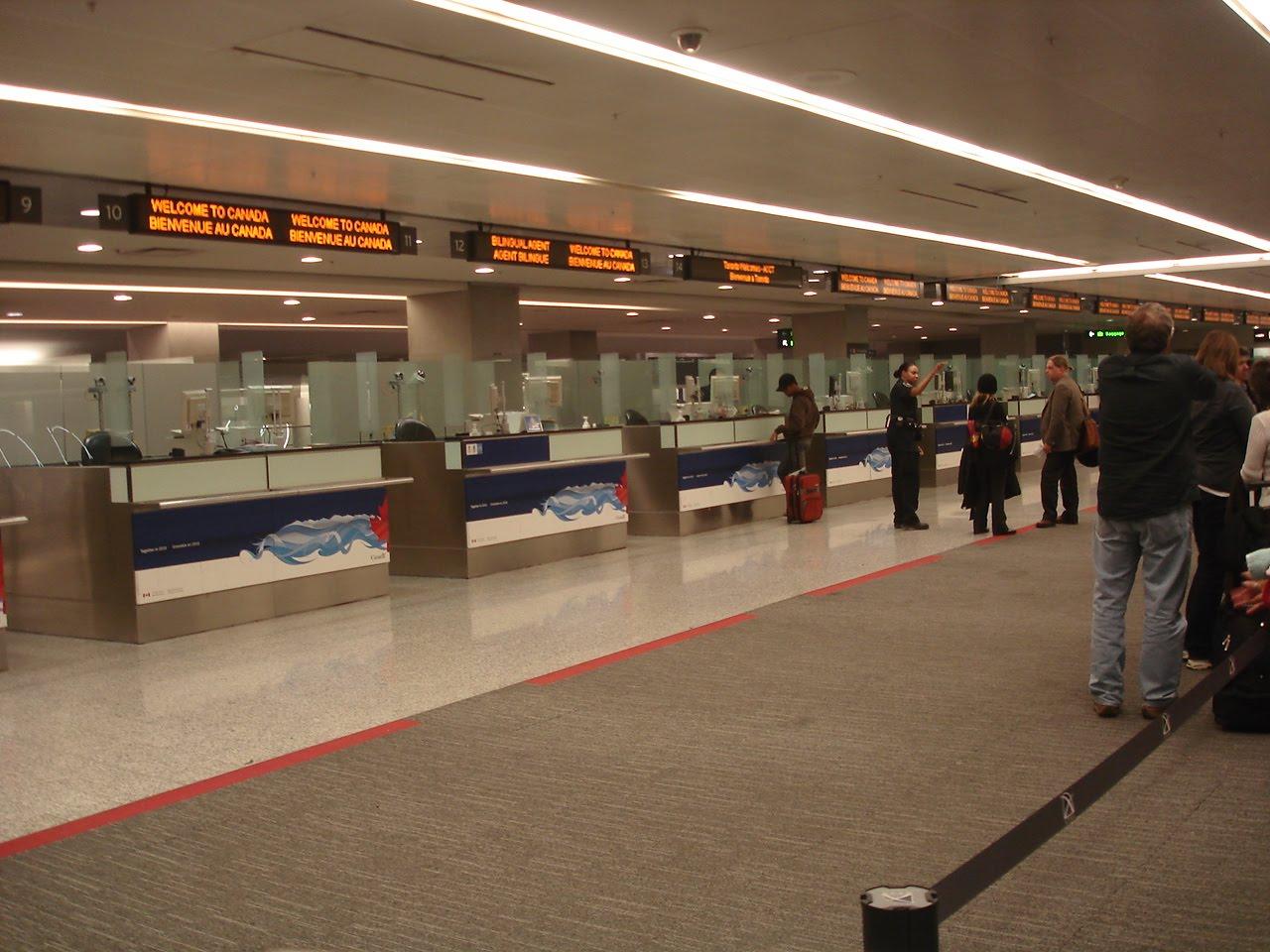 Aeroporto Quebec : Projeto québec chegando no canada aeroporto toronto