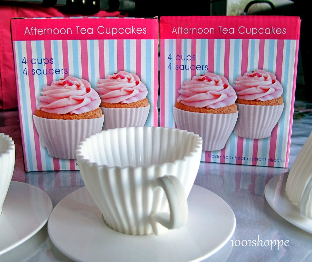 TEA CUP SET SILICONE CAKE MOLD