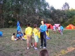 Monta un campamento para niños