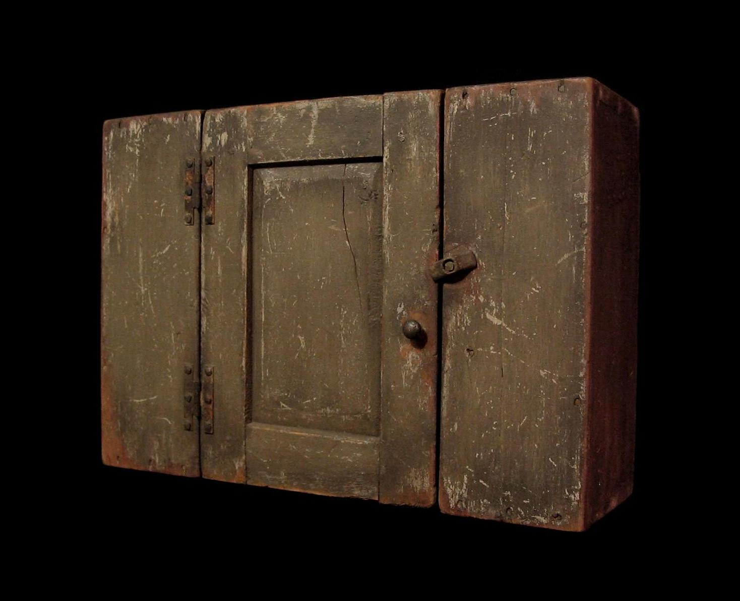 Primitive Wall Cupboard & Daryl McMahon: Primitive Wall Cupboard