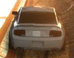 3D Puanlı Mustang Arabası Yeni