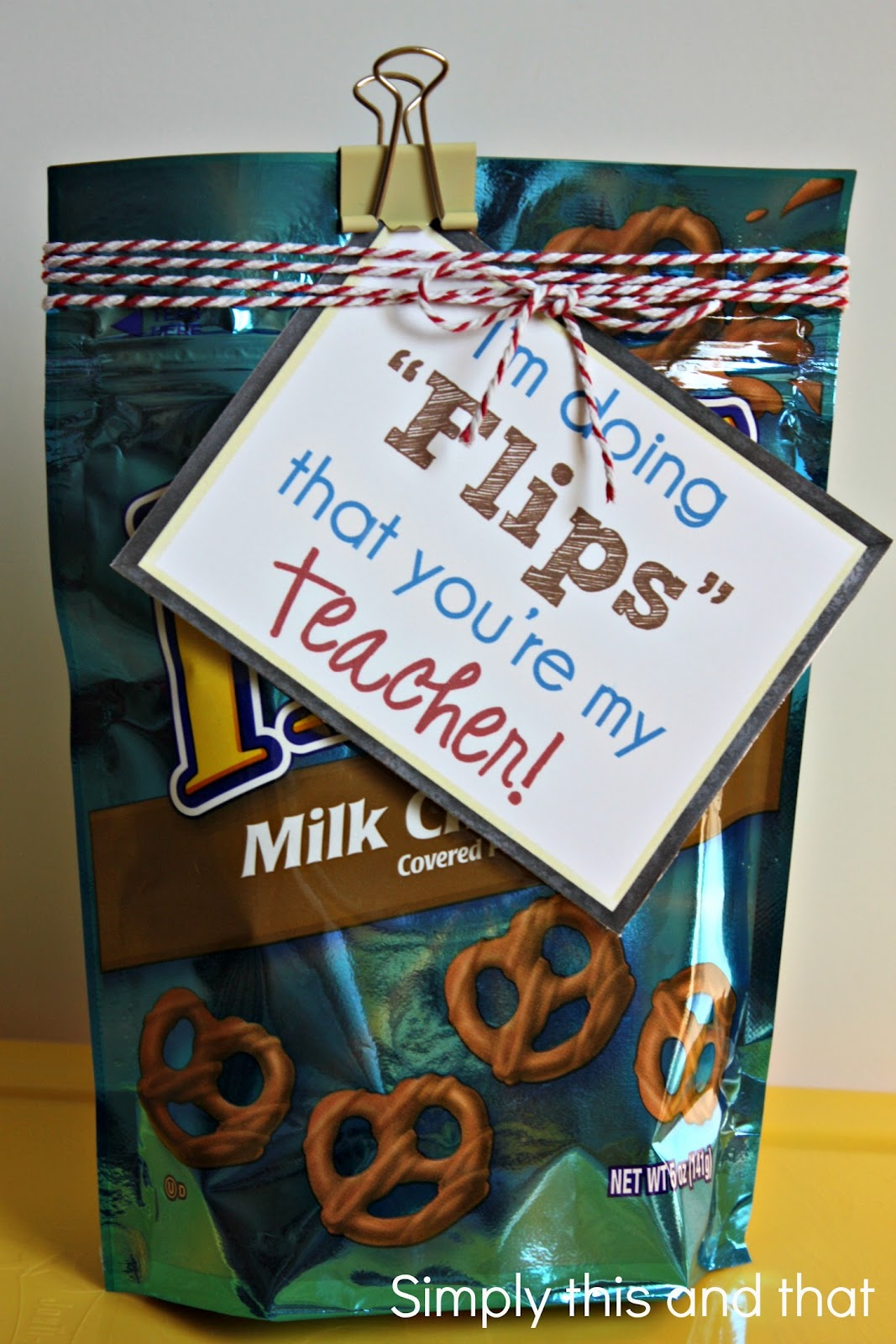 Simply This and that: Back to School Teacher Gift
