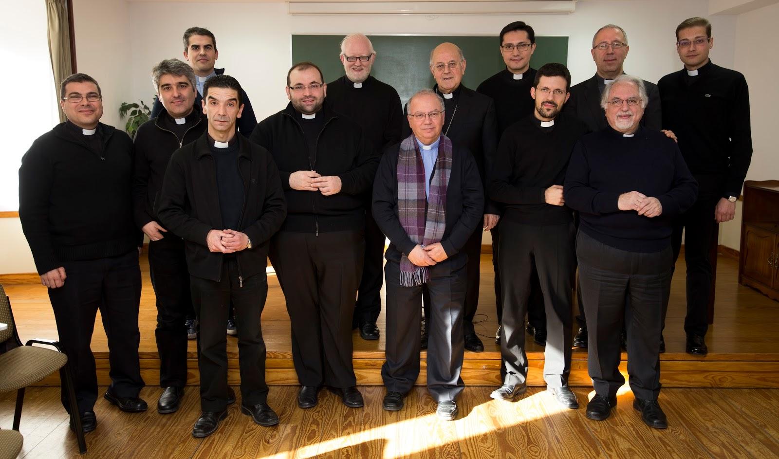 Encuentro de D. Ricardo con los sacerdotes jóvenes
