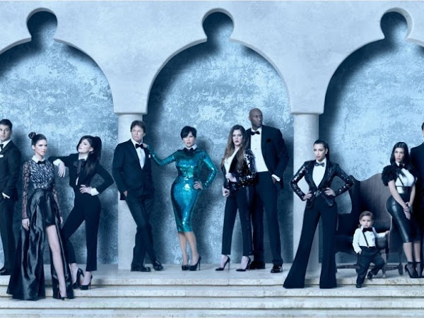 The Kardashian/Jenner Family 2011 Christmas Card.