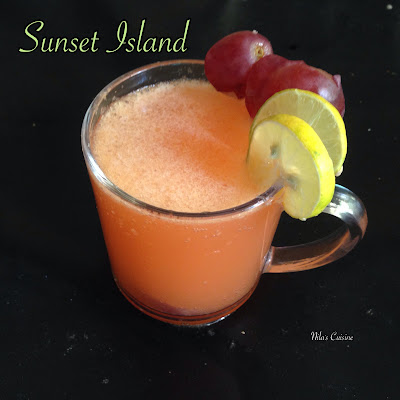 Sunset Island / Pineapple Orange Mocktail