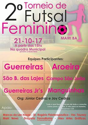 Segundo Torneio de futebol feminino de Mairi
