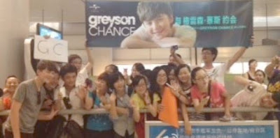 Greyson Chance meeting his fans in Changsha China - July 2012