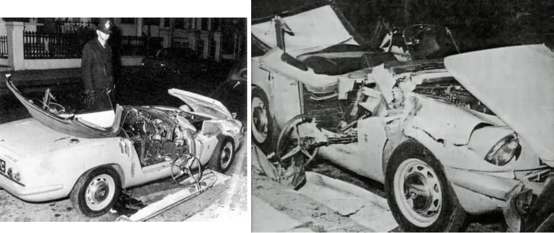 muerto accidente coche: