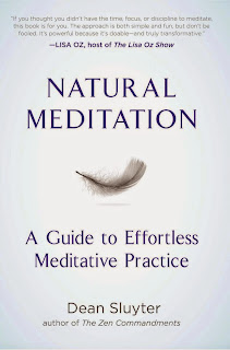 Dean Sluyter Natural Meditation Workshop 4/19 in San Clemente
