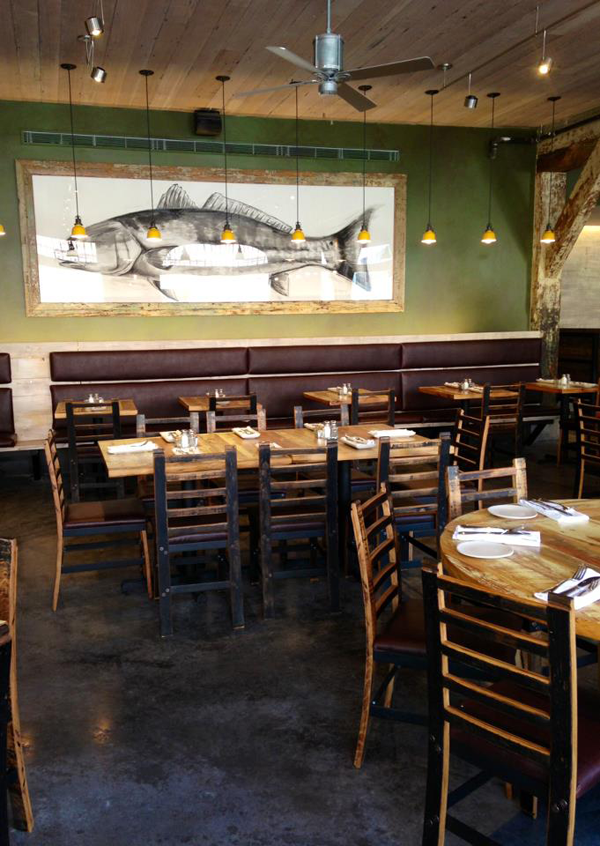 Frances Rodriguez, Peche Seafood New Orleans artwork