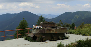 The American built Stuart tank at Cabanes Vieilles