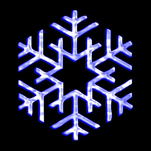 copos de nieve y estrellas png transparente para christmas