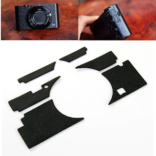 Camera Leather Case Sticker Skin Decal Cover for Sony DSC-RX100III M3