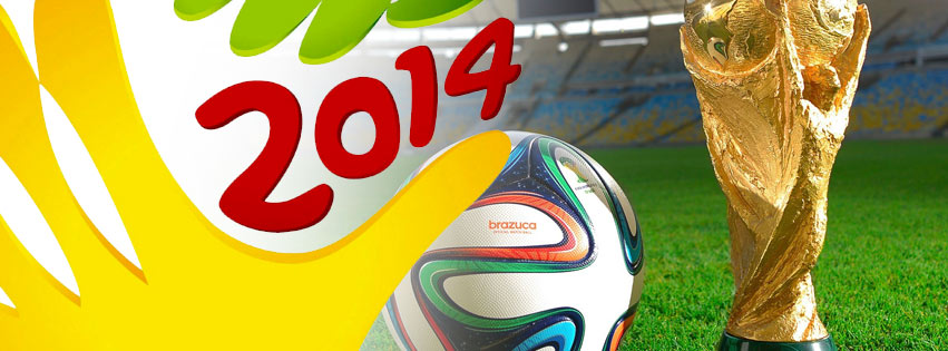 Ảnh bìa Facebook World Cup 2014 tại Brazil