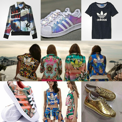 Flowers-polka-dots-and-abstract-forms-are-splattered-across-the-latest-womens-clothing-line-from-Adidas