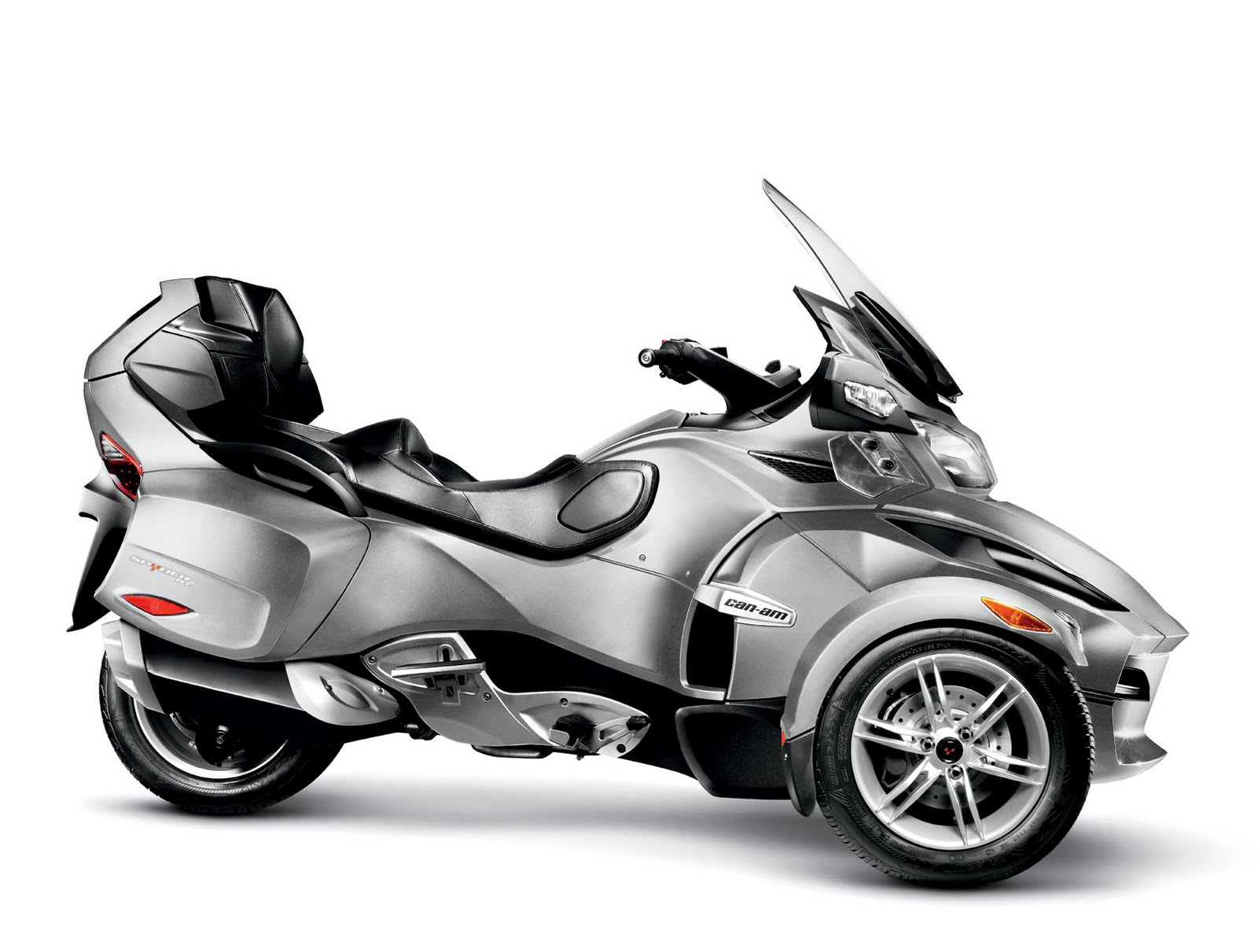 motorcycle pictures can am spyder rt roadster 2010. Black Bedroom Furniture Sets. Home Design Ideas