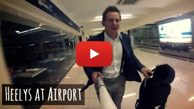 Watch how this Man on his Heelys and with his GoPro on a Stick travels the Entire Airport using the Heelys as a lifehack via geniushowto.blogspot.com Gopro sports videos