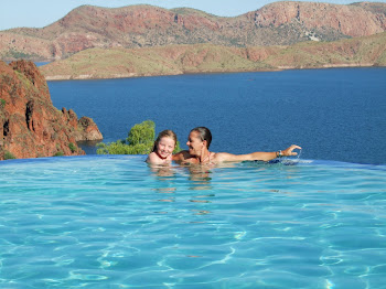 Infinity pool Lake Argyle