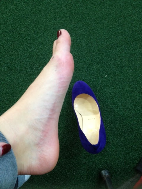 Sore Feet After Walking In Wet Shoes