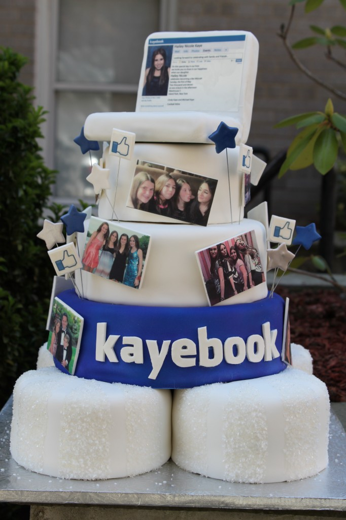 Birthday Cake Pictures To Facebook : Themed Cakes, Birthday Cakes, Wedding Cakes: Facebook ...