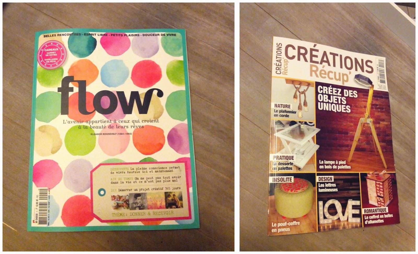 magazine, flow, créations récup', bricolage, zen, bullelodie