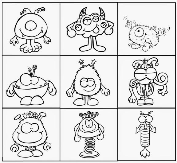 Schön Monster Malvorlagen Für Kinder Ideen - Ideen färben - blsbooks.com