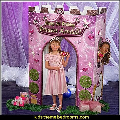 Princess Castle party prop