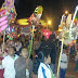 Desfile de faroles por el aniversario de la I.E. Simón Bolivar