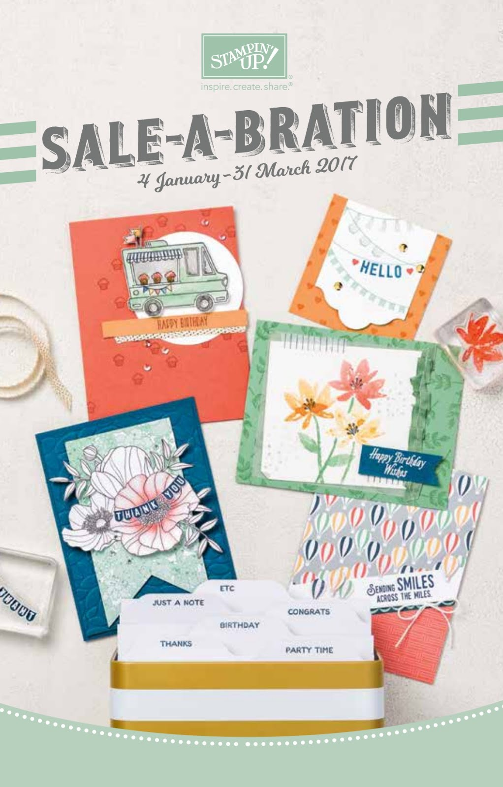 SALE A BRATION 2017 BROCHURE