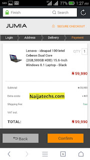How to buy things on Jumia