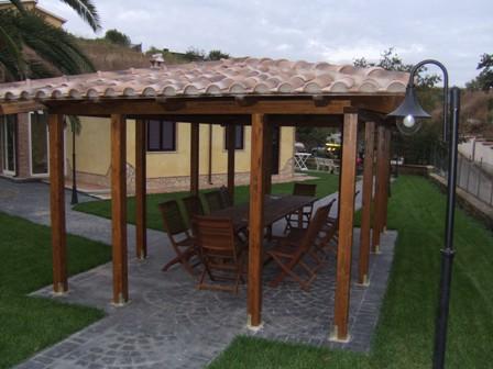 Arredamento e interior design casa gazebo abbaini coperture